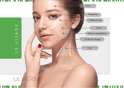 HIFU Ultrasound skin lifting by ULVERIN