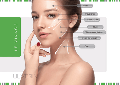 HIFU Ultrasound skin lifting by ULVERIN